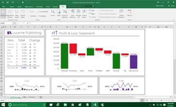 microsoft office excel 2016 home and business